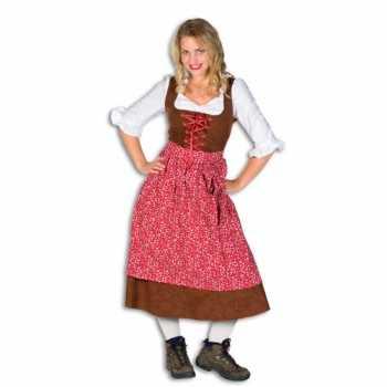Foute lang tiroler party kleding voor dames