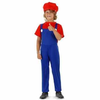 Foute loodgieter party kleding rood voor jongens