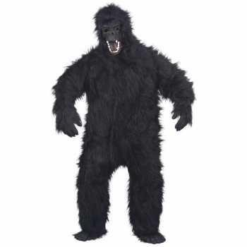 Foute luxe gorilla pak/party kleding voor volwassenen
