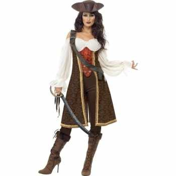 Foute luxe piraten party kleding voor dames