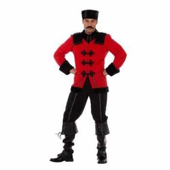 Foute luxe russisch party kleding voor heren
