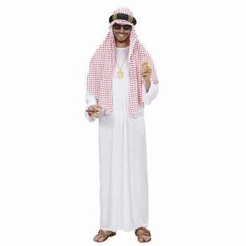 Foute luxe sjeik party kleding voor heren