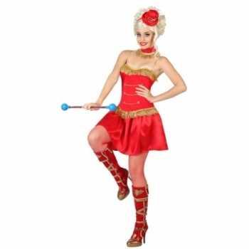 Foute majorette party kleding voor dames