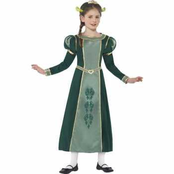 Foute meisjes groene prinses fiona shrek party kleding