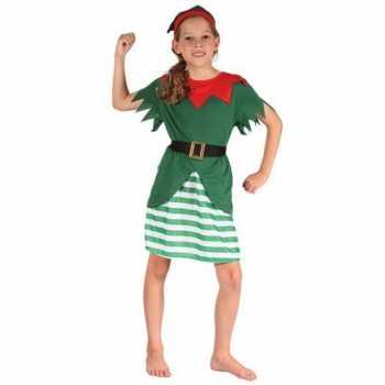 Foute meisjes kerstelf party kleding