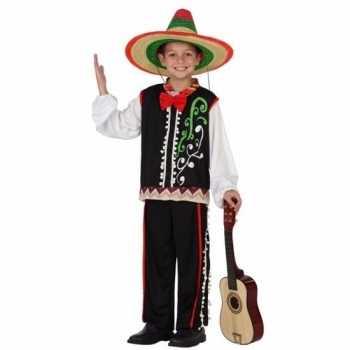 Foute mexicaanse senor party kleding voor jongens