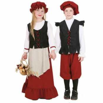 Foute middeleeuws meisjes party kleding