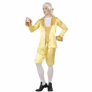 Foute middeleeuwse lakei party kleding voor heren