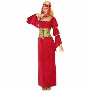 Foute middeleeuwse prinses/jonkvrouw party kleding voor dames