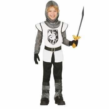 Foute middeleeuwse ridder party kleding voor jongens