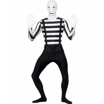 Foute mime artiest party kleding party kleding