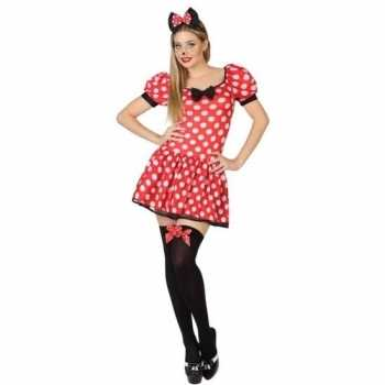 Foute muis/mouse party kleding/jurk voor dames