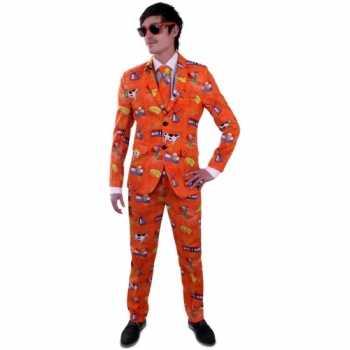 Foute nederland party kleding pak voor heren