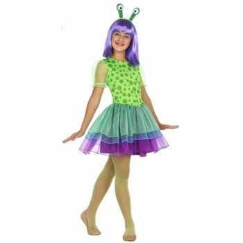 Foute neon alien party kleding voor meisjes