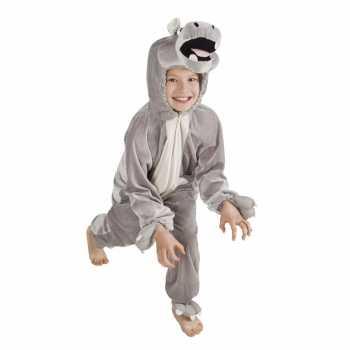 Foute nijlpaard party kleding voor kinderen