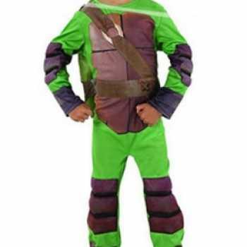 Foute ninja turtle party kleding voor jongens