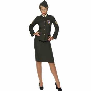 Foute oorlog officier party kleding voor dames