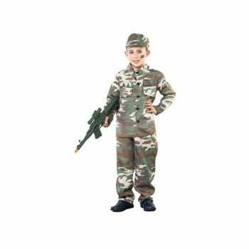 Foute oorlogje spelen party kleding voor jongens