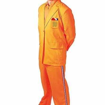 Foute oranje party kleding bobo
