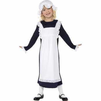 Foute ouderwets weesmeisje party kleding
