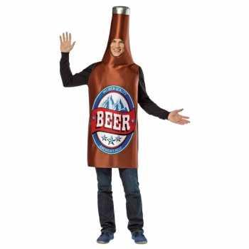 Foute party kleding bier flesje