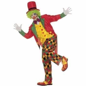 Foute party kleding clown volwassenen