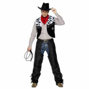 Foute party kleding cowboy heren