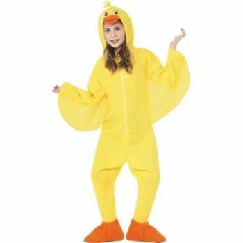 Foute party kleding eendje all in one voor kinderen party