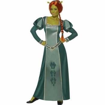 Foute party kleding fiona uit shrek party