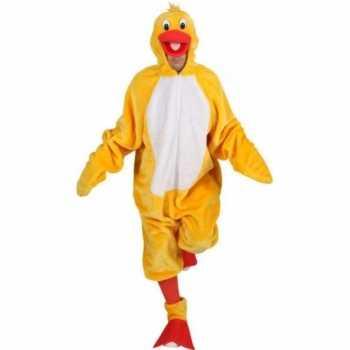 Foute party kleding gele vogels party kleding