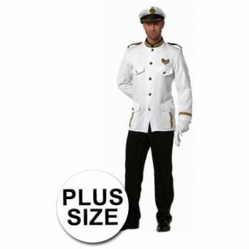 Foute party kleding grote maten kapitein heren