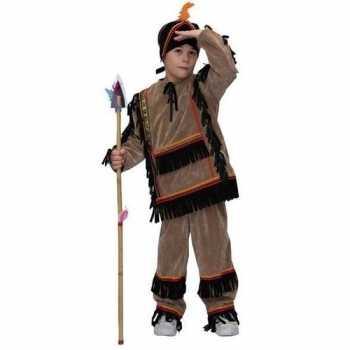 Foute party kleding indiaan kinderen