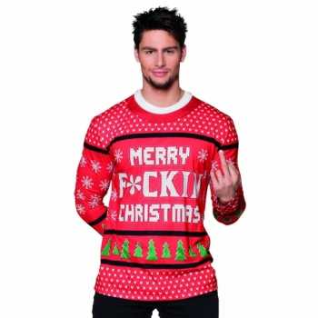 Foute party kleding kerst heren shirt party 10075234