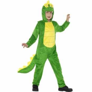 Foute party kleding krokodil all in one voor kinderen