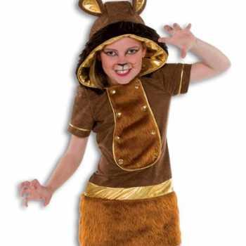 Foute party kleding meisjes leeuw