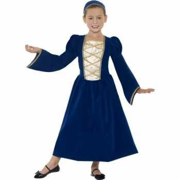Foute party kleding middeleeuws prinses jurkje