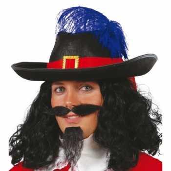 Foute party kleding musketier accessoire volwassenen