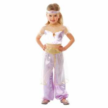 Foute party kleding paars oosterse prinses