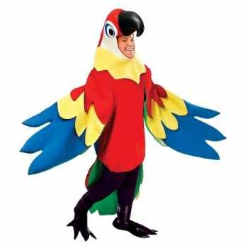 Foute party kleding papegaai party