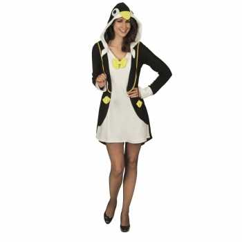 Foute party kleding pinguin voor dames