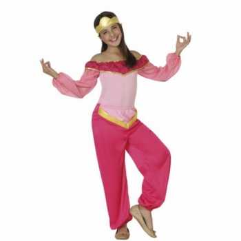 Foute party kleding roze arabische prinses