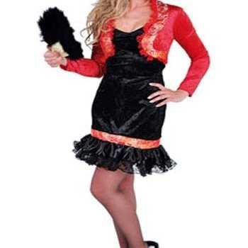 Foute party kleding spaanse jurk