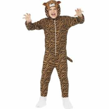 Foute party kleding tijger all in one voor kinderen