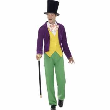 Foute party kleding willy wonka party kleding