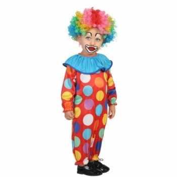 Foute peuter party kleding clown
