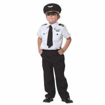 Foute piloot party kleding voor jongens