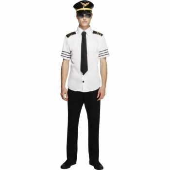 Foute piloten party kleding heren
