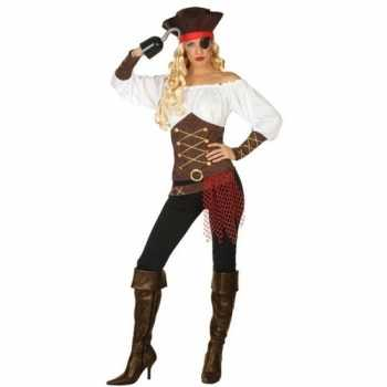 Foute piraat agatha pak/party kleding voor dames