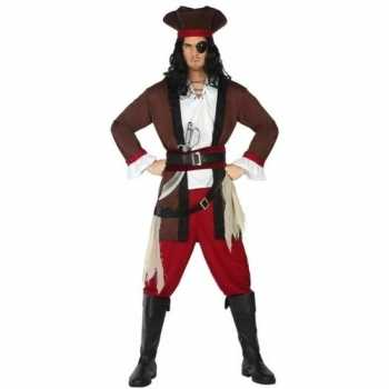 Foute piraat henry pak/party kleding voor volwassenen