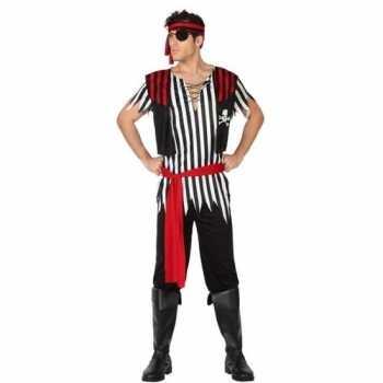 Foute piraat jack pak/party kleding voor heren